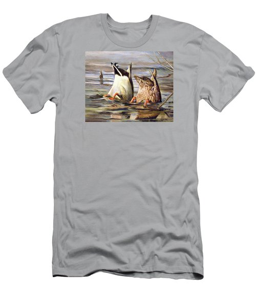 What's Up Men's T-Shirt (Slim Fit) by Donna Tucker