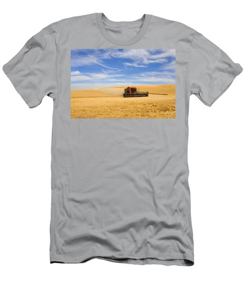 Wheat Harvest Men's T-Shirt (Athletic Fit)