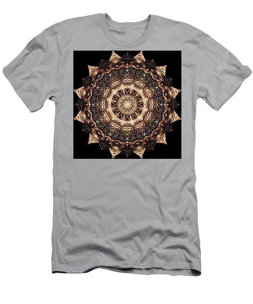 Wheel Of Life Mandala Men's T-Shirt (Athletic Fit)