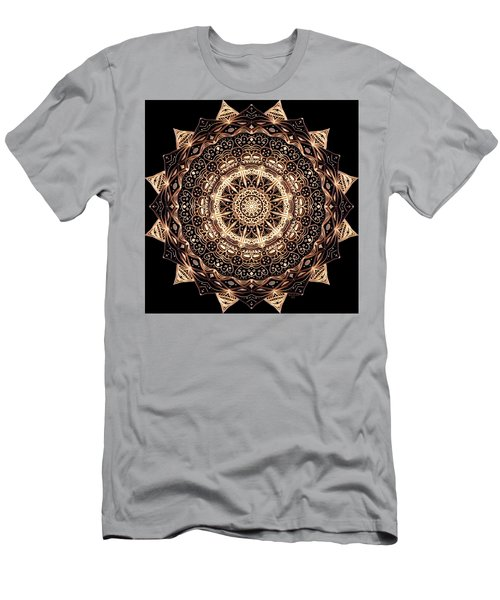 Wheel Of Life Mandala Men's T-Shirt (Athletic Fit)