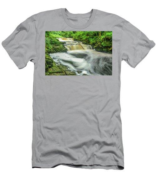 Whirls 'n Swirls  Men's T-Shirt (Athletic Fit)