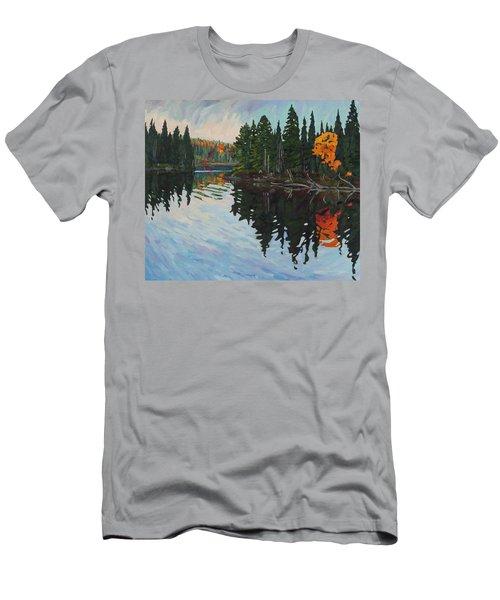 Whiskey Jack Bay Men's T-Shirt (Athletic Fit)