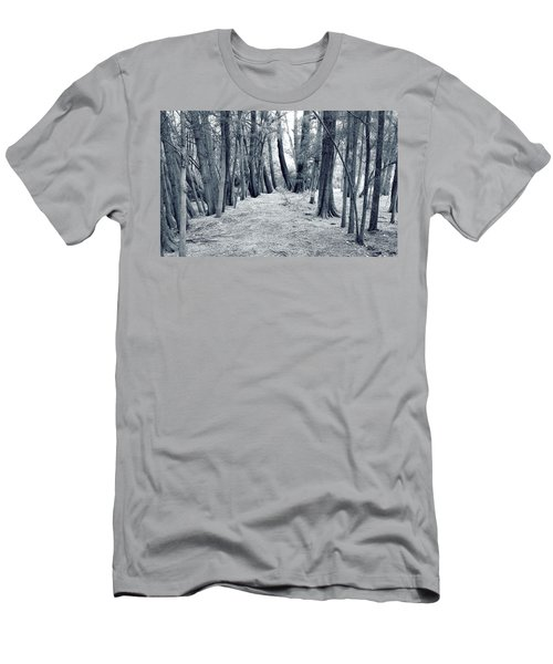 Men's T-Shirt (Slim Fit) featuring the photograph Whispering Forest by Wayne Sherriff