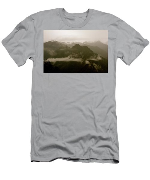Whispers In The Andes Mountains Men's T-Shirt (Athletic Fit)