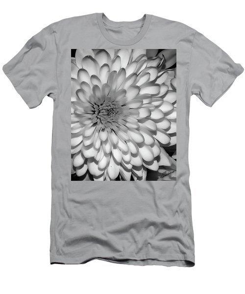 White Bloom Men's T-Shirt (Athletic Fit)