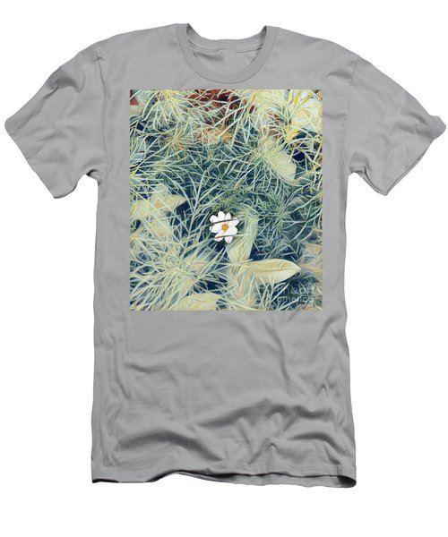 White Cosmo Men's T-Shirt (Athletic Fit)