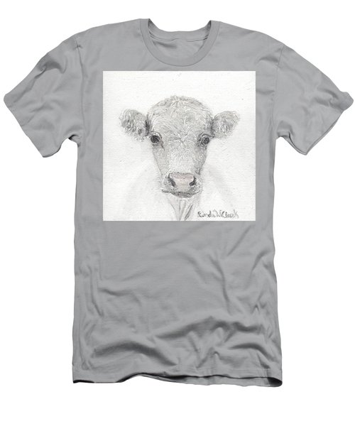 White Cow Men's T-Shirt (Athletic Fit)