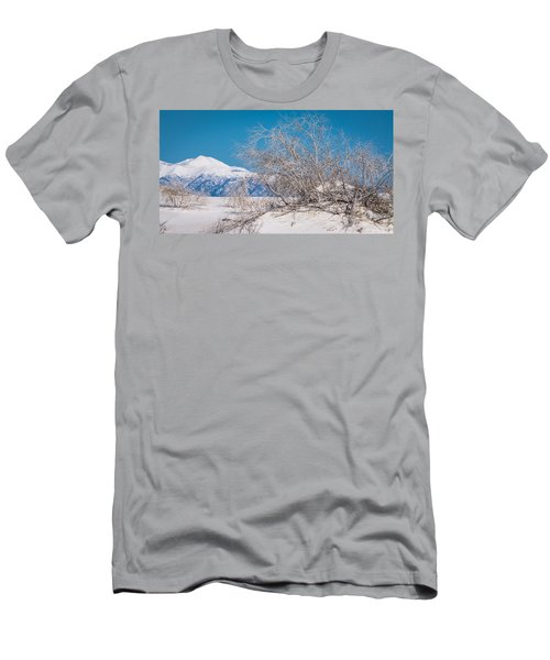 White Desert Men's T-Shirt (Athletic Fit)
