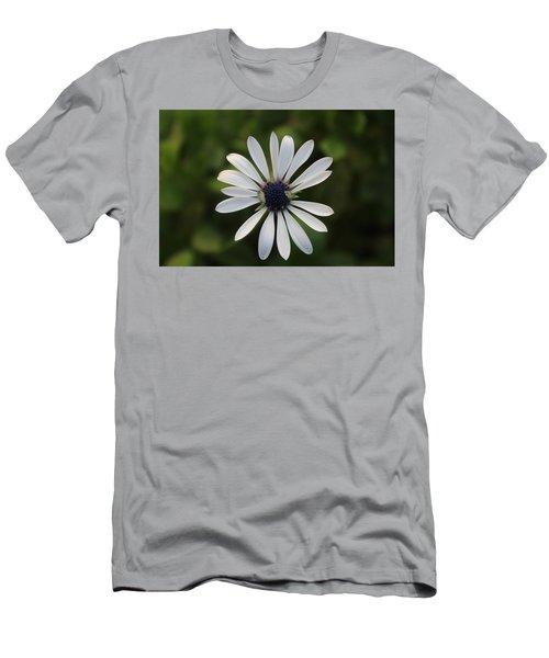 White Flower Men's T-Shirt (Athletic Fit)