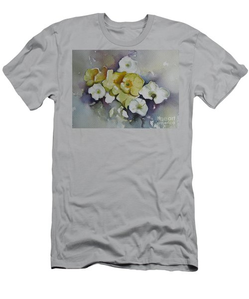 White Flowers, Yellow Flowers... Men's T-Shirt (Athletic Fit)