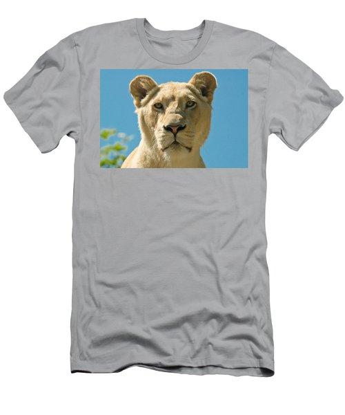 White Lion Men's T-Shirt (Athletic Fit)