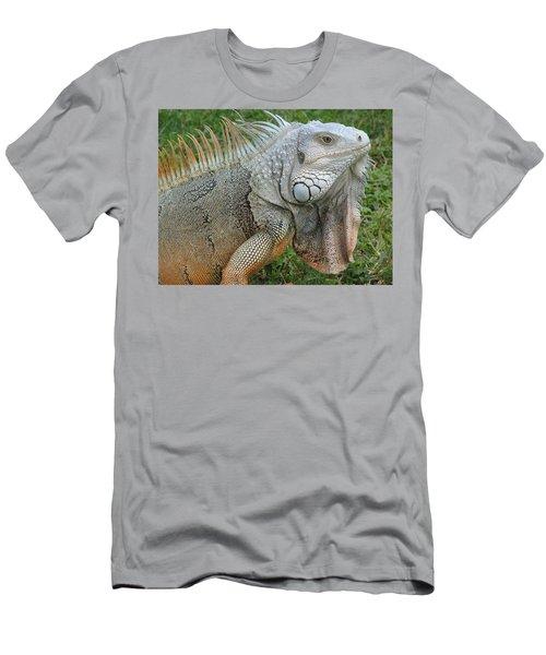 White Lizard Men's T-Shirt (Athletic Fit)