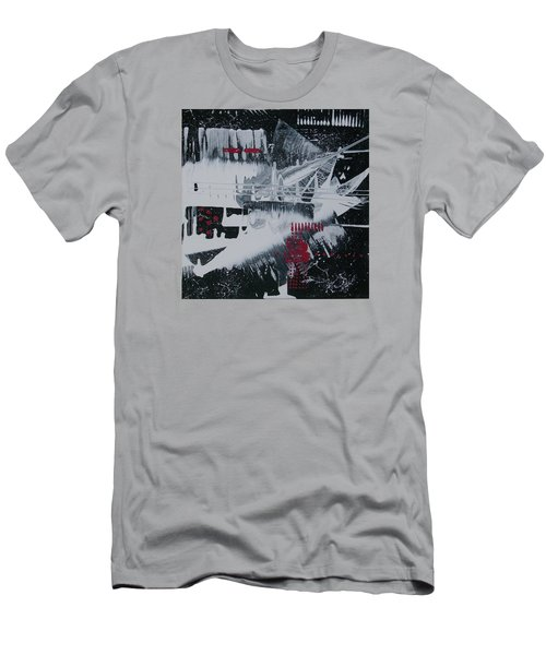White Noise #1 Men's T-Shirt (Slim Fit)
