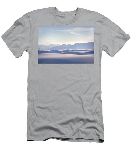 White Sands Blue Sky Men's T-Shirt (Athletic Fit)