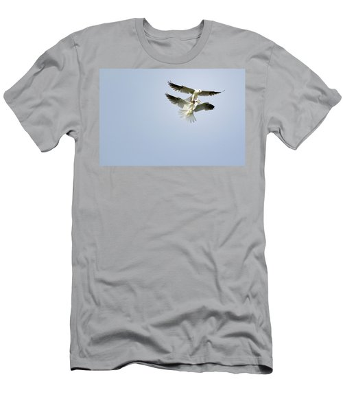 White-tailed Kites Food Exchange Men's T-Shirt (Athletic Fit)