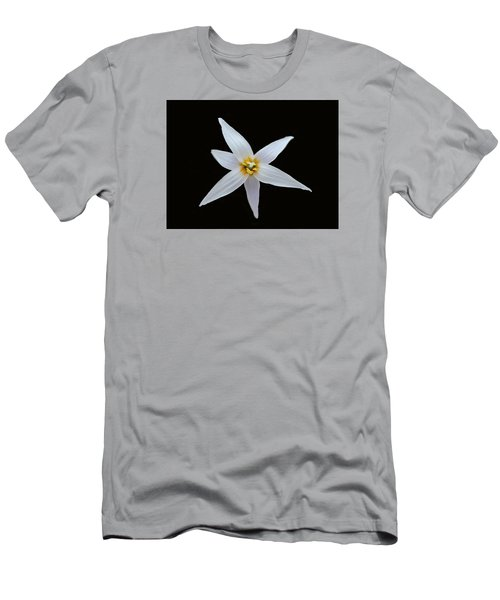 White Trout Lily Men's T-Shirt (Athletic Fit)