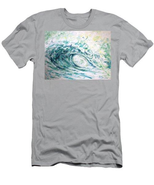 White Wash Men's T-Shirt (Slim Fit) by William Love