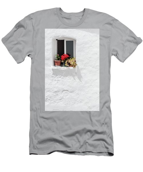 White Window Men's T-Shirt (Athletic Fit)