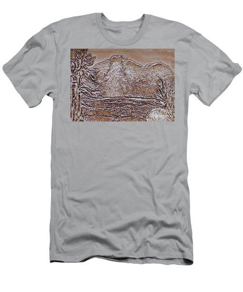 Whiteface Mountain Men's T-Shirt (Athletic Fit)