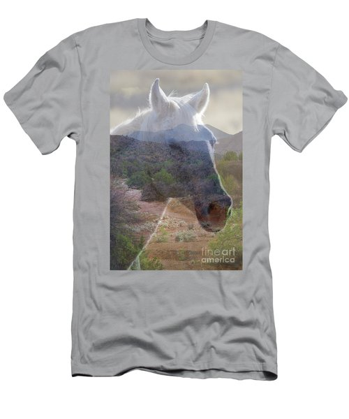 Wild And Free Men's T-Shirt (Athletic Fit)