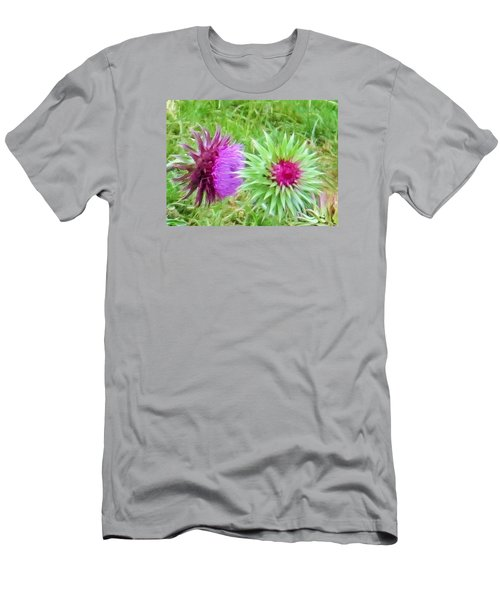Men's T-Shirt (Slim Fit) featuring the photograph Wild Beauty In The Meadow by Jeanette Oberholtzer