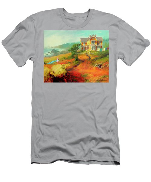 Men's T-Shirt (Athletic Fit) featuring the painting Wild Child by Steve Henderson