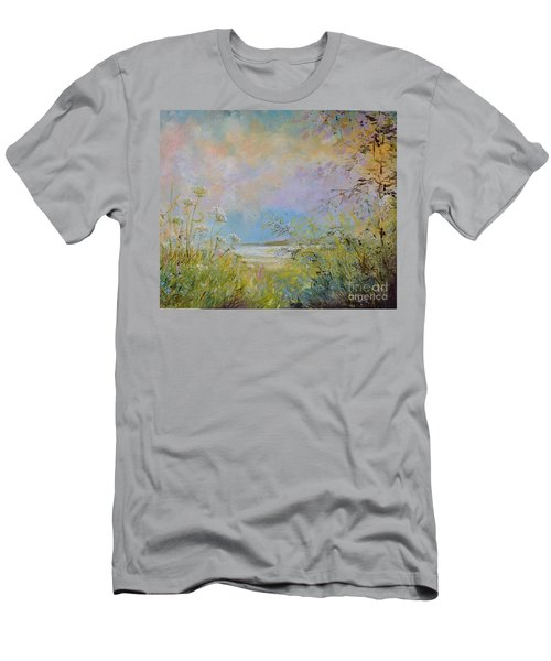 Wild Grasses Of Saugatuck Men's T-Shirt (Athletic Fit)