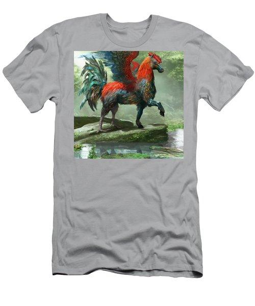 Wild Hippalektryon Men's T-Shirt (Athletic Fit)