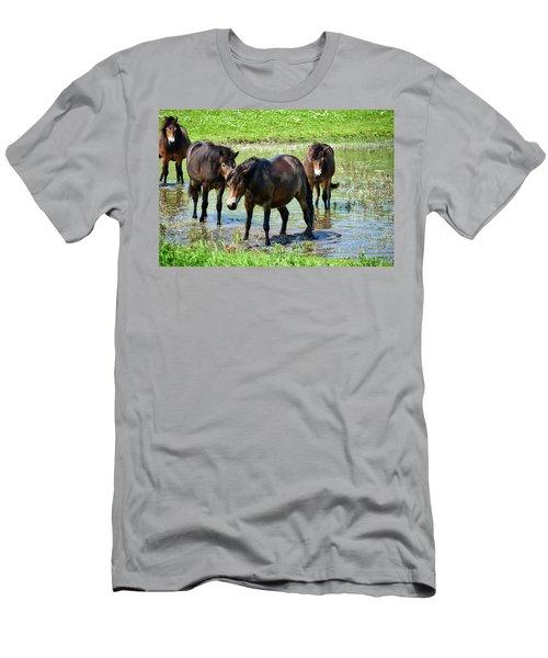Wild Horses 4 Men's T-Shirt (Athletic Fit)