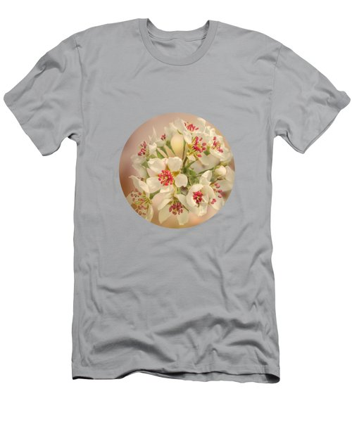 Wild Pear Blossom Men's T-Shirt (Athletic Fit)