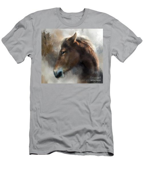 Wild Pony Men's T-Shirt (Slim Fit) by Kathy Russell