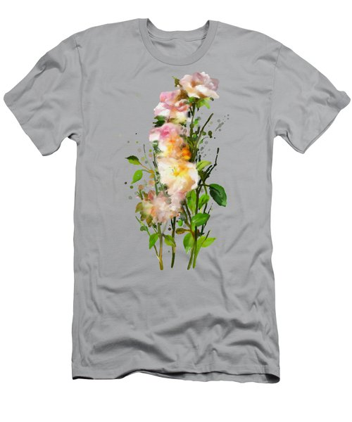 Wild Roses Men's T-Shirt (Athletic Fit)