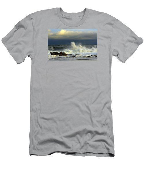 Wild Waves Men's T-Shirt (Athletic Fit)