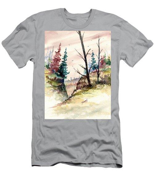 Wilderness II Men's T-Shirt (Slim Fit) by Sam Sidders