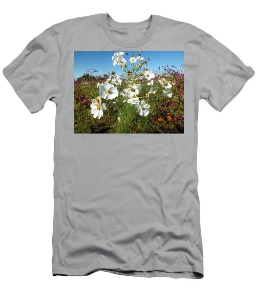 Wildflower Mania Men's T-Shirt (Athletic Fit)