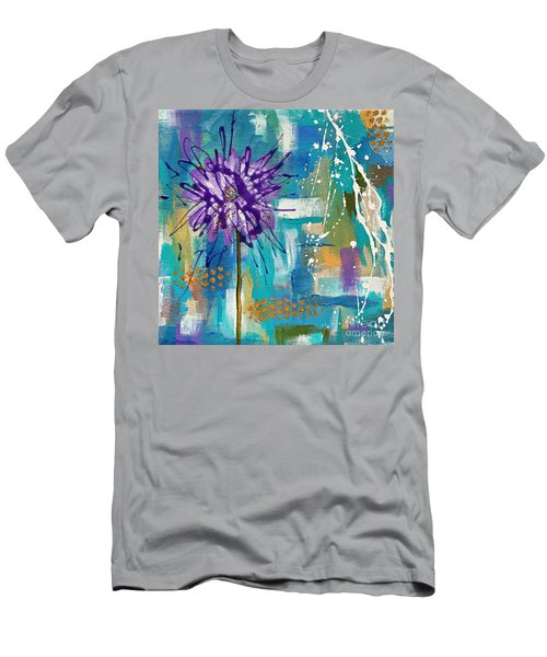 Wildflower No. 1 Men's T-Shirt (Athletic Fit)
