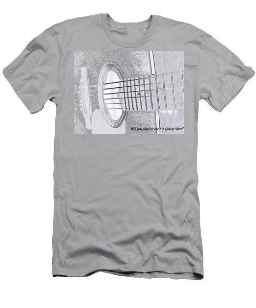 Will You Play For Me Men's T-Shirt (Athletic Fit)