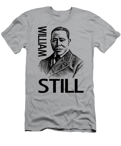 William Still Men's T-Shirt (Slim Fit) by Otis Porritt