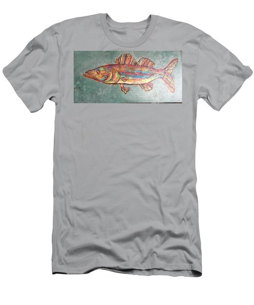 Willie The Walleye Men's T-Shirt (Athletic Fit)