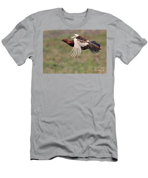 Willow Ptarmigan Flight Men's T-Shirt (Athletic Fit)