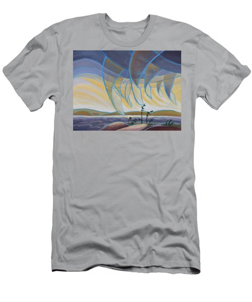 Wind And Rain Men's T-Shirt (Athletic Fit)