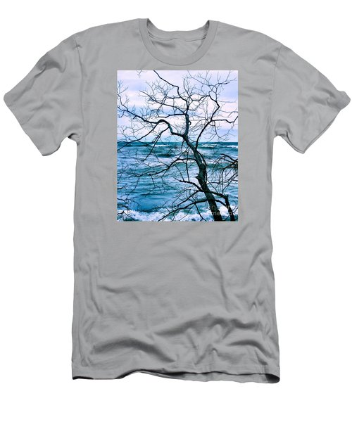 Wind Swept Men's T-Shirt (Slim Fit) by Heather King