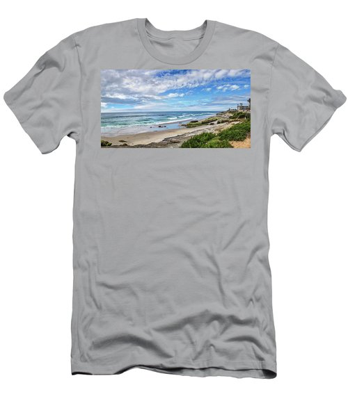 Men's T-Shirt (Slim Fit) featuring the photograph Windansea Wonderful by Peter Tellone