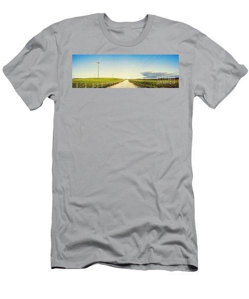 Windfarm Way Men's T-Shirt (Athletic Fit)