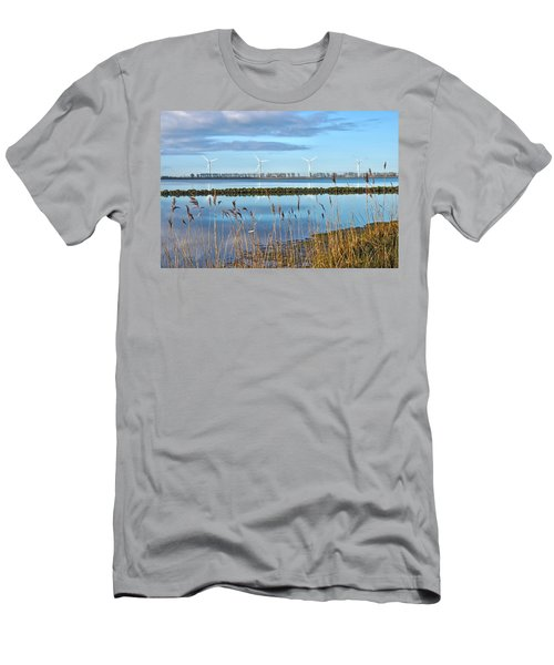 Windmills On A Windless Morning Men's T-Shirt (Athletic Fit)