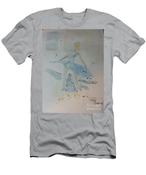 Men's T-Shirt (Athletic Fit) featuring the painting Window Of Opportunity by Denise Tomasura