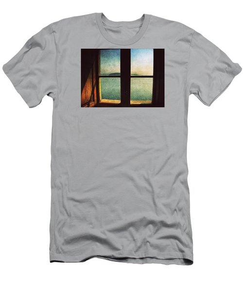 Window Overlooking The Sea Men's T-Shirt (Athletic Fit)