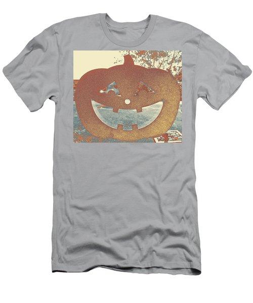 Window Pumpkin #1 Men's T-Shirt (Athletic Fit)