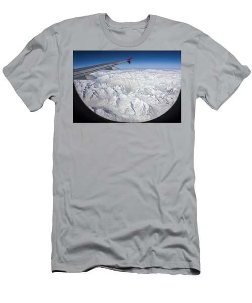 Window To Himalaya Men's T-Shirt (Athletic Fit)