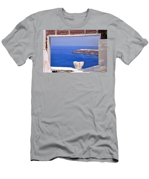 Window View To The Mediterranean Men's T-Shirt (Athletic Fit)